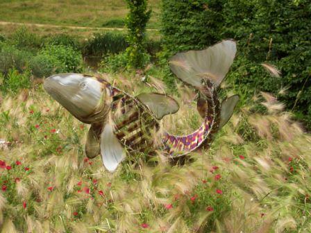 Sculpture at Harlow Carr
